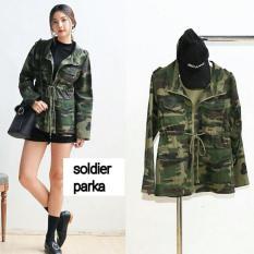 jual Baju Murah Terbaru ,jaket murah Soldier Parka PR001
