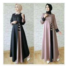 Jual Baju Wanita / Long Dress/Baju Muslim Wanita /Maxi Dres / Afida Dr