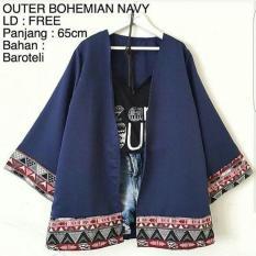 Jual Blazer Cardy Outer Bohemian Atasan Wanita Berkualitas