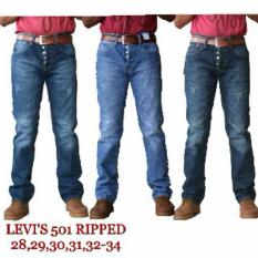 Jual Celana Levis501 Ripped Original Philipines/Celana Levis501 Ripped - Bae3bc