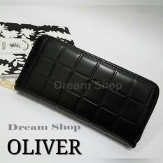 Jual Dompet Impor Wanita Cantik - Oliver Wallet (Black) | Dream Shop