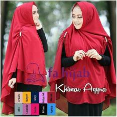 Jual Hijab Jilbab Instan Khimar Aqyna Diskon