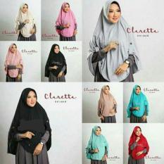 Jual Jilbab Instan Kerudung Hijab Khimar Claretta Murah
