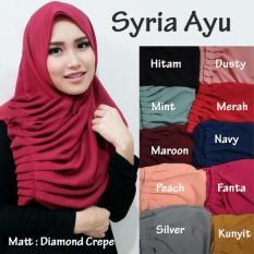 Jual Jilbab Instan Kerudung Hijab Syria Ayu Berkualitas