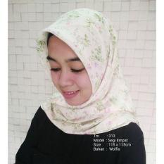 Jual Jilbab Segiempat Motif / Tiung Mode ( TM-313 ) / Segiempat Murah / Kerudung / Grosir Dan Eceran