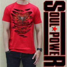 Jual Kaos 3D Spiderman Costum Original Tshirt Soulpowerstyle - 6A3B75