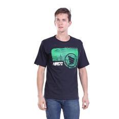 Jual Kaos Distro Pria / T-Shirt Male Green City - H 0274