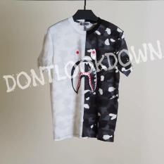 Jual Kaos Pria Bape City Camo Shark Tshirt Mirror Quality 1:1 Original - D9C753