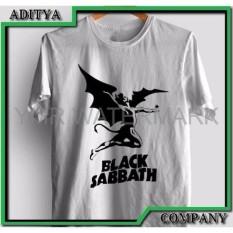 Jual Kaos Tshirt Gildan Sablon Polyflex Band Black Sabbath Custom Special Order