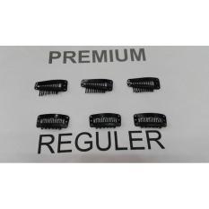 Jual Premium Clip Jahit Sendiri Hairclip Hair Clip Klip Korea Deluxe Diskon