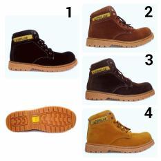 Jual Sepatu Caterpillar Safety Boots Orion Bahan Suede MURAH MERIAH