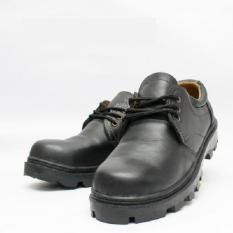 Jual Sepatu Safety Pria Bahan KULIT SAPI ASLI untuk Kerja Proyek Pabrik Tali