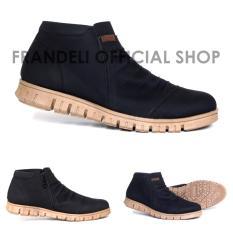 Jual Sepatu Semi boots Mofeat formal Pria -Boots Murah Diskon Sepatu kerja Casual Kickers Cevany