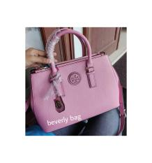 jual tas bag Torry Burch LEATHER MIRROR - pink