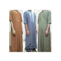 Jubah Ikhwan Al-Jadiid / Gamis Pria / Baju Koko Muslim Pria
