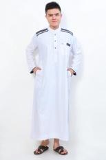 Jubah muslim Gamis Cordova AL-ISRA (Putih)