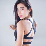 Beli Juctity Baru Wanita Cross Desain Olahraga Bra Push Up Shockproof Vest Tops Dengan Padding Untuk Menjalankan Gym Kebugaran Jogging Yoga Shirt Hitam Intl Kredit Tiongkok