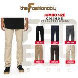 Beli Jumbo Size Celana Chino Pants Pria Slim Fit Premium Quality No Brand