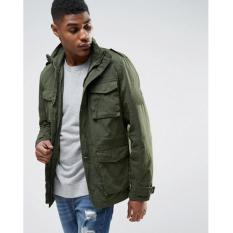 Juragan Jaket - Jaket Parka Military Exclusive Army Green