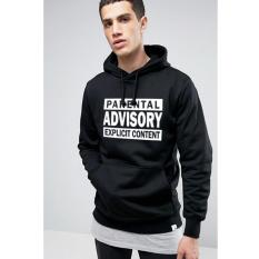 Jual Just Cloth Jaket Pullover Hoodie Advisory A 057 Hitam Just Cloth Ori