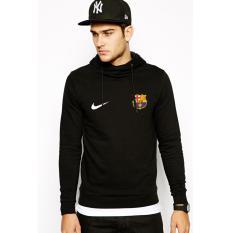 Just Cloth Jaket Pullover Hoodie Barcelona - Hitam