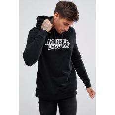 Spesifikasi Just Cloth Jaket Pullover Hoodie Gaming Mobile Legends Hitam Dan Harganya