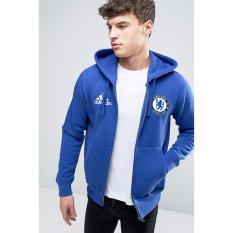 Spesifikasi Just Cloth Jaket Zipper The Blues Chelsea Biru Yang Bagus