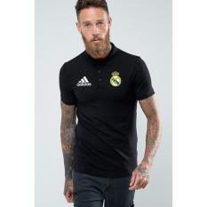 Just Cloth Kaos Polo Real Madrid A-034 - Hitam