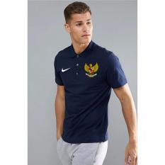 Just Cloth Kaos Polo Timnas Indonesia - Navy