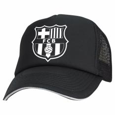 Just Cloth Topi Trucker Barcelona La Blaugrana - Hitam