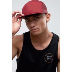 Just Cloth Topi Trucker Snapback Sport Polos - Merah