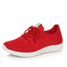 Juta And Baru Bernapas Sepatu (Merah)