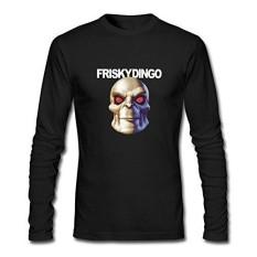 JUXING Men's Frisky Dingo Long Sleeve T-shirt - intl
