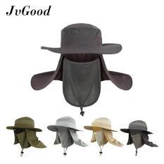 Jual Beli Jvgood Topi Pria Wanita Topi Jepang Mancing Proyek Gunung Anti Panas Summer Sun Hat Caps Fishing Hat Upf 50 Cap Baru Tiongkok