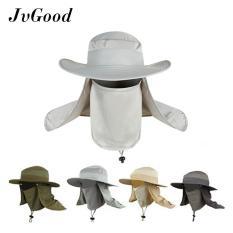 JvGood Topi Pria Wanita Topi Jepang Mancing Proyek Gunung Anti Panas Summer Sun Hat Caps Fishing Hat UPF 50+ Cap