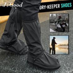 Beli Jvgood Jas Hujan Sepatu Boots Hujan Anti Air Funcover Pelindung Sepatu Boots Rain Shoes Cover Setinggi Boots Jvgood