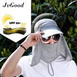 Harga Jvgood Topi Pria Wanita Topi Jepang Mancing Proyek Gunung Anti Panas Summer Sun Hat Caps Fishing Hat Upf 50 Cap Origin