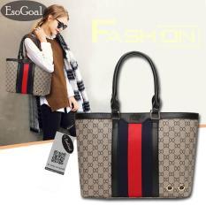 Toko Jvgood Tote Bag Wanita Tas Bahu Wanita Fashion Totes Leather Handbags Shoulder Women Bags Dekat Sini
