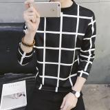 Katalog Jaket Pullover Kaos Oblong Pria Versi Korea Kotak Hitam Oem Terbaru