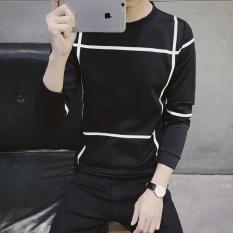 Spesifikasi Jvr Kaos Pria Bahan Polyester Kerah Bulat Motif Geometris Gaya Korea Sweater 31 Hitam Oem Terbaru