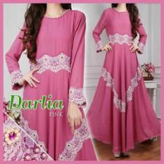 Harga J W V Concept Gamis Darlia Pink Dan Spesifikasinya
