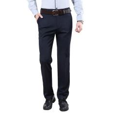JY 2017 Musim Panas Baru Pria Bisnis Celana Pria Bebas Anti Keriput Pants-hitam-Intl