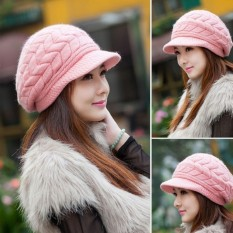 JZ Casual Female Summer Uv Sun Hat (Leaves Pearl Models Pink) MAC XS 920 - intl