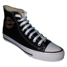 Harga K Zoot Rossi High Cut Sepatu Sekolah Hitam Seken