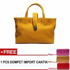 Jual K1Ngqu Tas Wanita Handbag 03 Kuning Baru