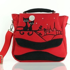 Spesifikasi Kabizaku Sling Bag Kitty Yang Bagus Dan Murah