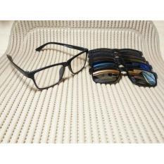 Kacamata Clip On Magnet Banyak Lensa - Ac3eda