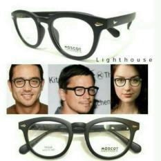 Kacamata Minus Moscot / Kacamata Korea Bulat Anti Radiasi Free Lensa - 65B676