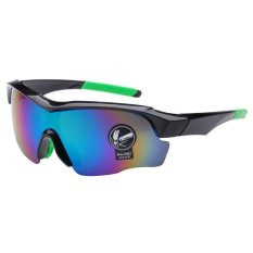 Kacamata Olahraga Running Sepeda Outdoor Sport Mercury Sunglasses for Man and Woman - Hitam