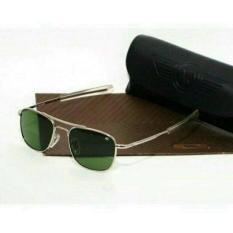 Kacamata Sunglasses American Optical Ao Pilot Skymaster Silver - Cc9e9a